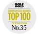 Golf World - European Golf Resorts TOP 100 - Buenavista No.35